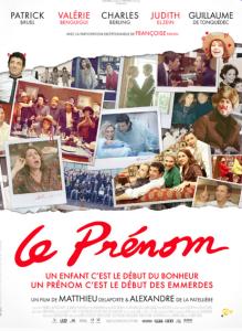 Affiche film 'Le Prénom'